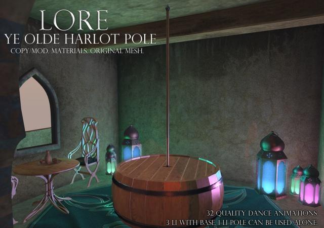 Ye Olde Harlot Pole Ad
