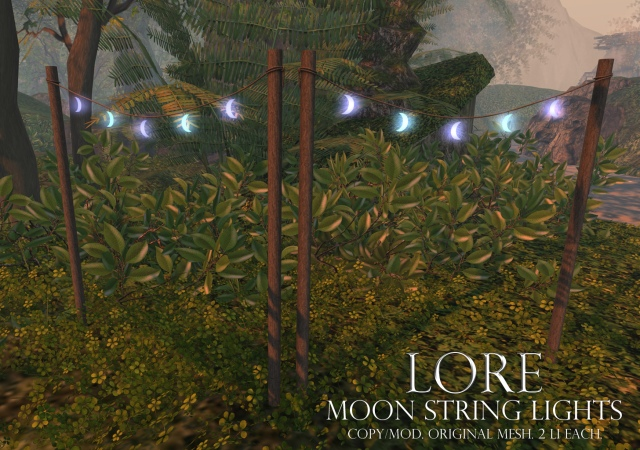 moon string lights ad