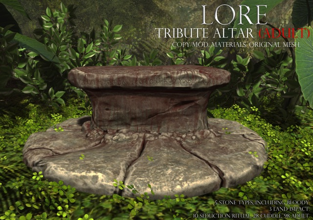 tribute altar ad adult