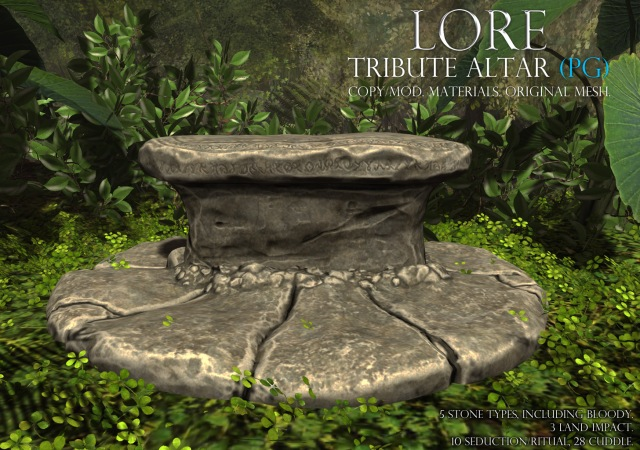 tribute altar ad pg