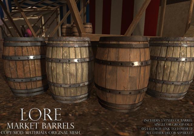 Market Barrel Ad