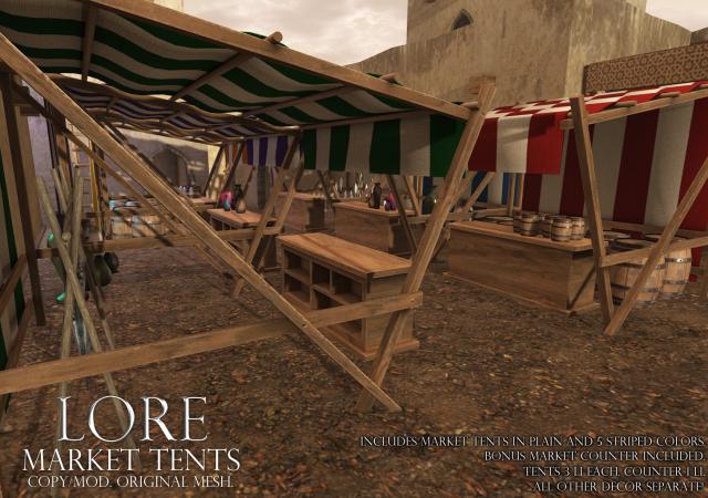 Market Tent Ad