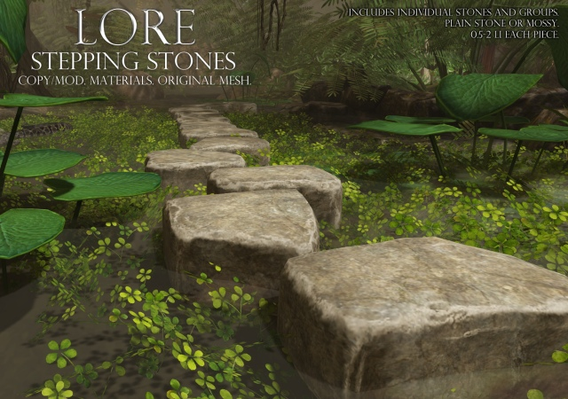 Stepping Stones Ad
