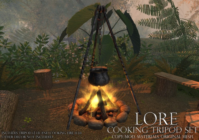 Cooking Tripod Set Ad