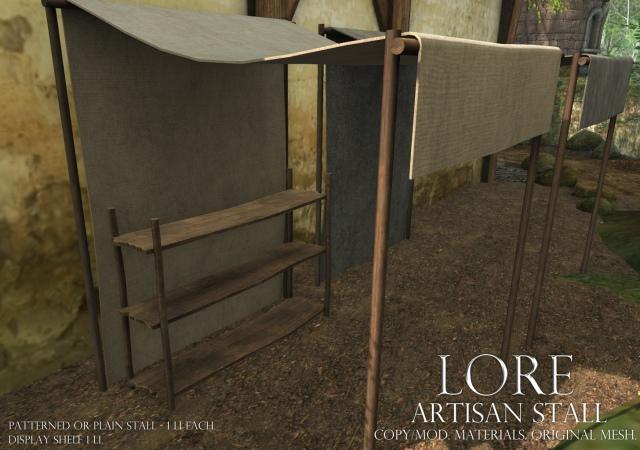 artisan stall ad