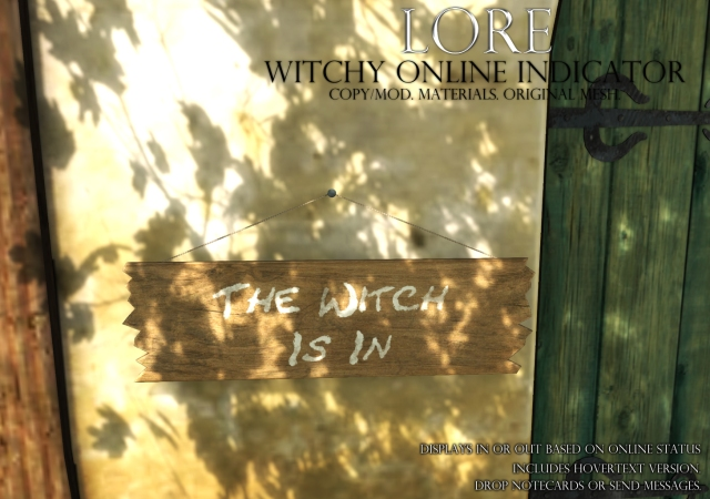 witchy online indicator ad
