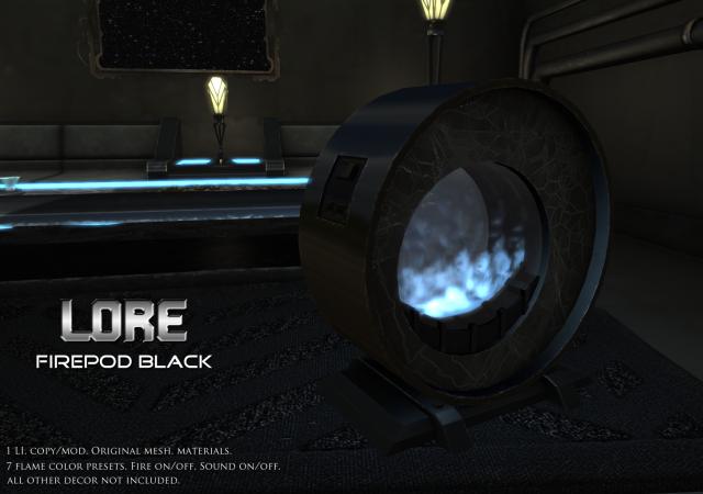 Firepod Ad black