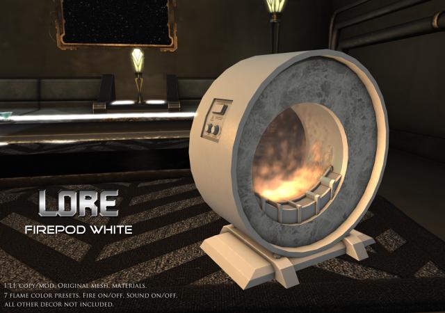 Firepod Ad White