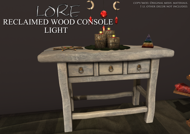 Reclaimed Wood Console Ad LIGHT